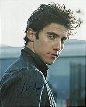 Milo Ventimiglia 8x10 colour photo of Milo, star of Heroes, signed by him i