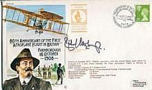 Richard Attenborough: 80th anniversary of the first aeroplane flight in Bri