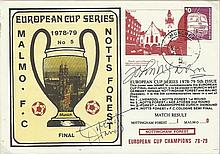 Trevor Francis and John McGovern signed 1979 European cup final cover. Good
