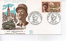 Superb unsigned French First Day Postal cover commemorating 25th Anniversar