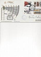 Letter from America'' Alistair Cooke Signed Abbey FDC BBC & Broadcasting Hi