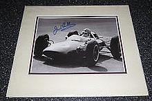 Brabham Jack A 22cm x 17cm image clearly signed by Jack Brabham in marker,