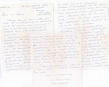 Wing Commander Alan Duncan 'Ginger' Murray DFC 3-page handwritten account o