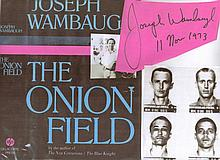 Joseph Wambaugh 1973 First Edition of the true crime THE ONION FIELD writte