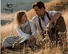 Saving Mr Banks: 8x10 inch photo signed by actress Annie Rose Buckley who p