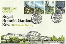 1979 Flowers Royal Botanic Gardens Key Official FDC Good condition