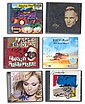 Signed CDs collection. Six excellent CDs, complete