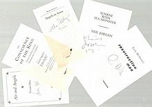Authors & Artists Autographs 60+ signed letters, book plates, cards, photos Nicely presented in albu