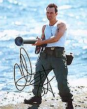 Slater Christian An 10 x 8 colour photo signed by Christian Slater, Good condition