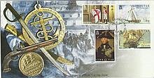 2005, 200th ann of the Battle of Trafalgar FDC. Gibraltar FDI postmark. Good condition