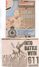 Battle of Britain Superb 28 A3 size pages September 1990 souvenir edition of the Liverpool Echo comm