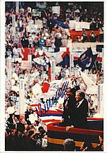 Walter Mondale, former American Vice-President, autographed 8x12 colour photo seen here with Jimmy C