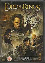 Billy Boyd signed Lord of the Rings, The Return of