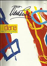 Diana Ross Concert programme at the NEC 1991.