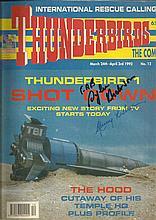 Thunderbirds signed original comic Thunderbird One
