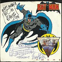 Bob Kane signed 7