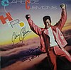 Clarence Clemons Original LP record autographed by