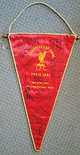 Liverpool Football Legends signed Stunning replica