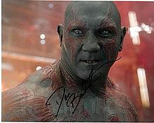 Dave Bautista 10x8 colour Photo Of Dave As Drax