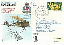 RAF Squadrons collection of 50 covers in superb