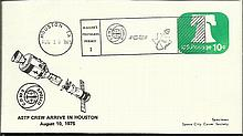 Space FDC collection of 29 Russian Space Airmails,