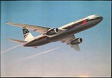 Aviation Postcards about 35 civil aviation 6 x 4