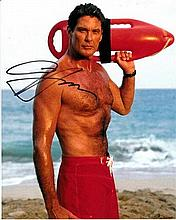 David Hasselhoff 8x10 colour Photo of David from
