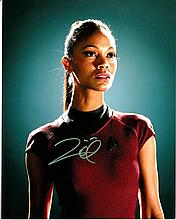 Zoe Saldana 8x10 colour Photo Guardians of the Galaxy