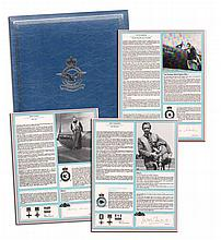 RAF Fighter Aces Collection Signed Profiles: - Each set of profiles is supp