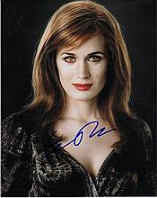Elizabeth Reaser 8x10 photo of Elizabeth from Twilight, signed by her in NY