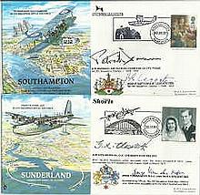RAF Planes & Places VIP signed collection. RAF(P&P;)1 - 31 with two or more
