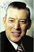 Ian Paisley famous Unionist politician and protestant leader in Northern Ir