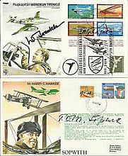 Test Pilot Special signed collection. Complete set of the 40 TP Test Pilot