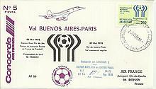 Air France Concorde Buenos Aires - Paris . Good Condition