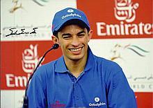 Silvestre de Sousa signed photo. Jockey won Champion stakes on Farhh in 201