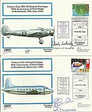 VAFA Brooklands Museum Signed cover collection. Album with lots of special