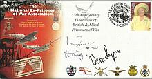 Ian Fraser VC, Lord Haig and Vera Lynn signed The National ex-prisoner of W