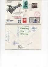 RAF Escaping Society signed cover. The signatories are: Chairman of RAFES M