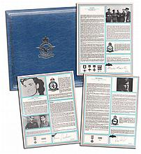 RAF Bomber Command Collection Signed Profiles - Each set of profiles is sup