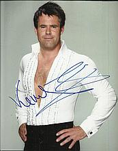 Rugby Colour 8x10 photograph from the celebrity dancing show Strictly Come
