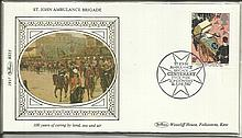 Benham Small Silk 1987 First Day Cover sets