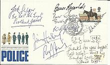 Great Train Robbers multi-signed cover. 1979