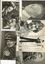 Vintage Actors signed photo collection. Nine