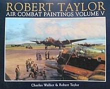 Robert Taylor Air Combat Paintings Multi Signed