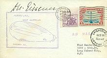 Dr. Hugo Eckener signed scarce Zeppelin cover.