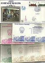 Railway Postcards & FDCs nice little collection of