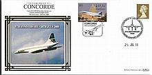 Benham Concorde Covers Collection. Set 5. Nice little lot consisting of fi
