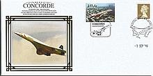 Benham Concorde Covers Collection. Set 2. Nice little lot consisting of fi