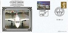 Benham Concorde Covers Collection. Set 1. Nice little lot consisting of fi