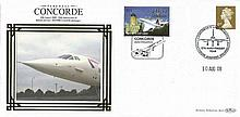 Benham Concorde Covers Collection. Set 4. Nice little lot consisting of fi